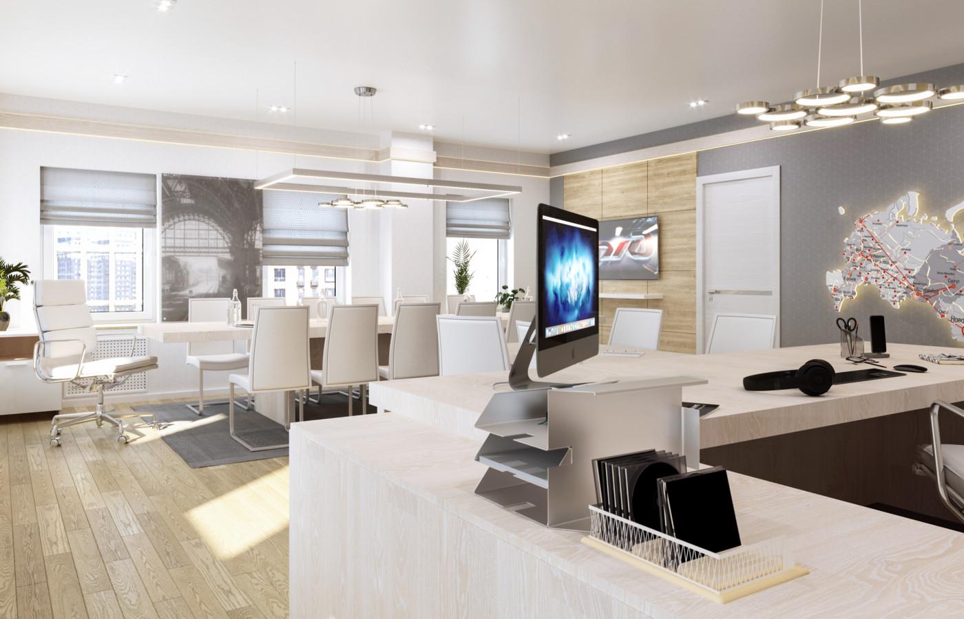Дизайн офиса для РЖД Обложка