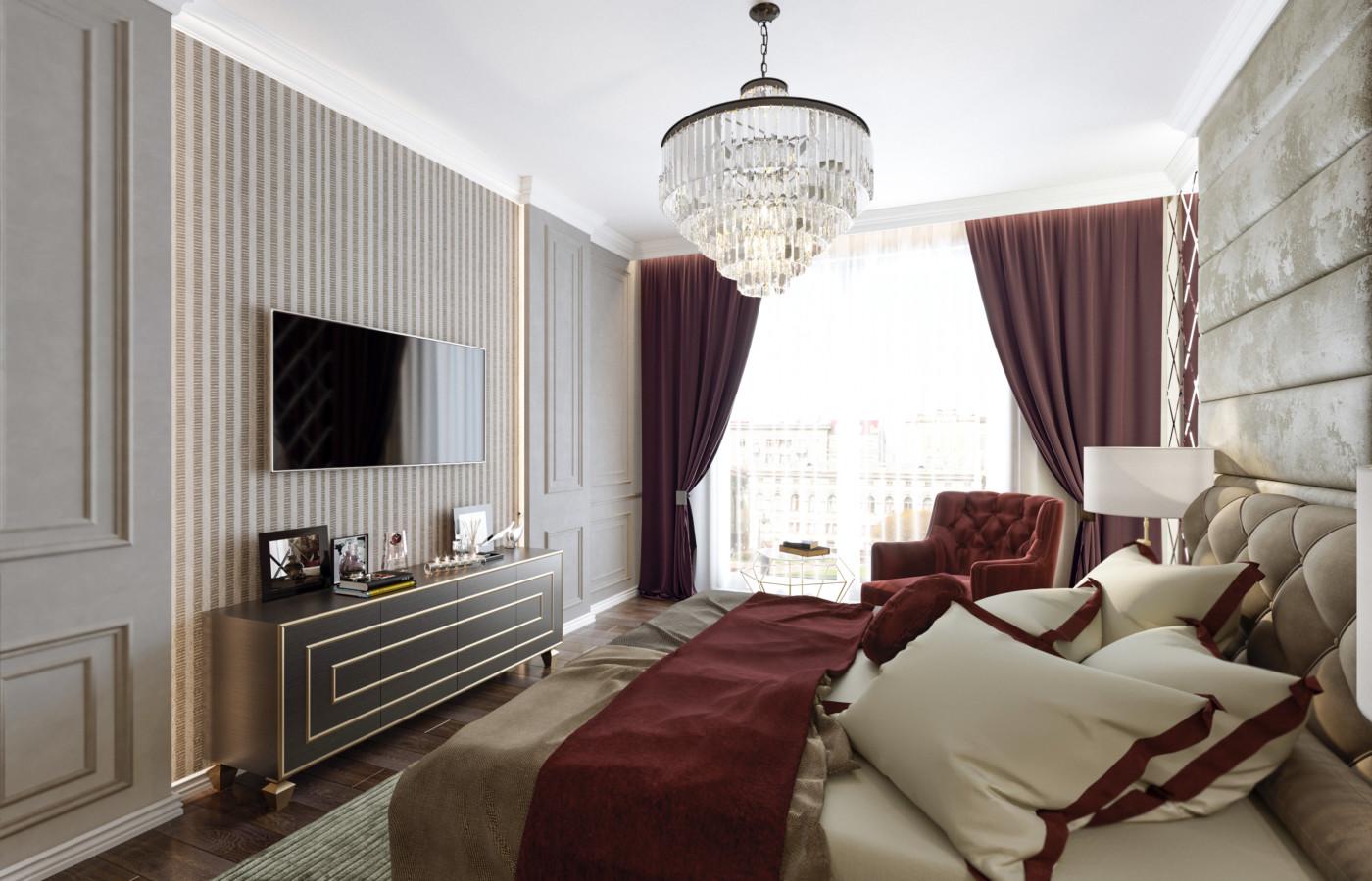 Спальня Крестовский