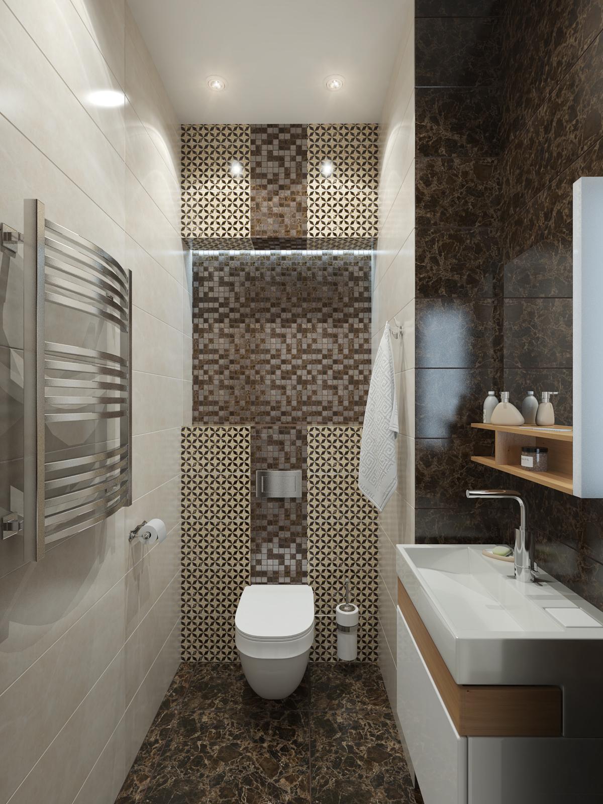 дизайн интерьера ванной нео классика (1)