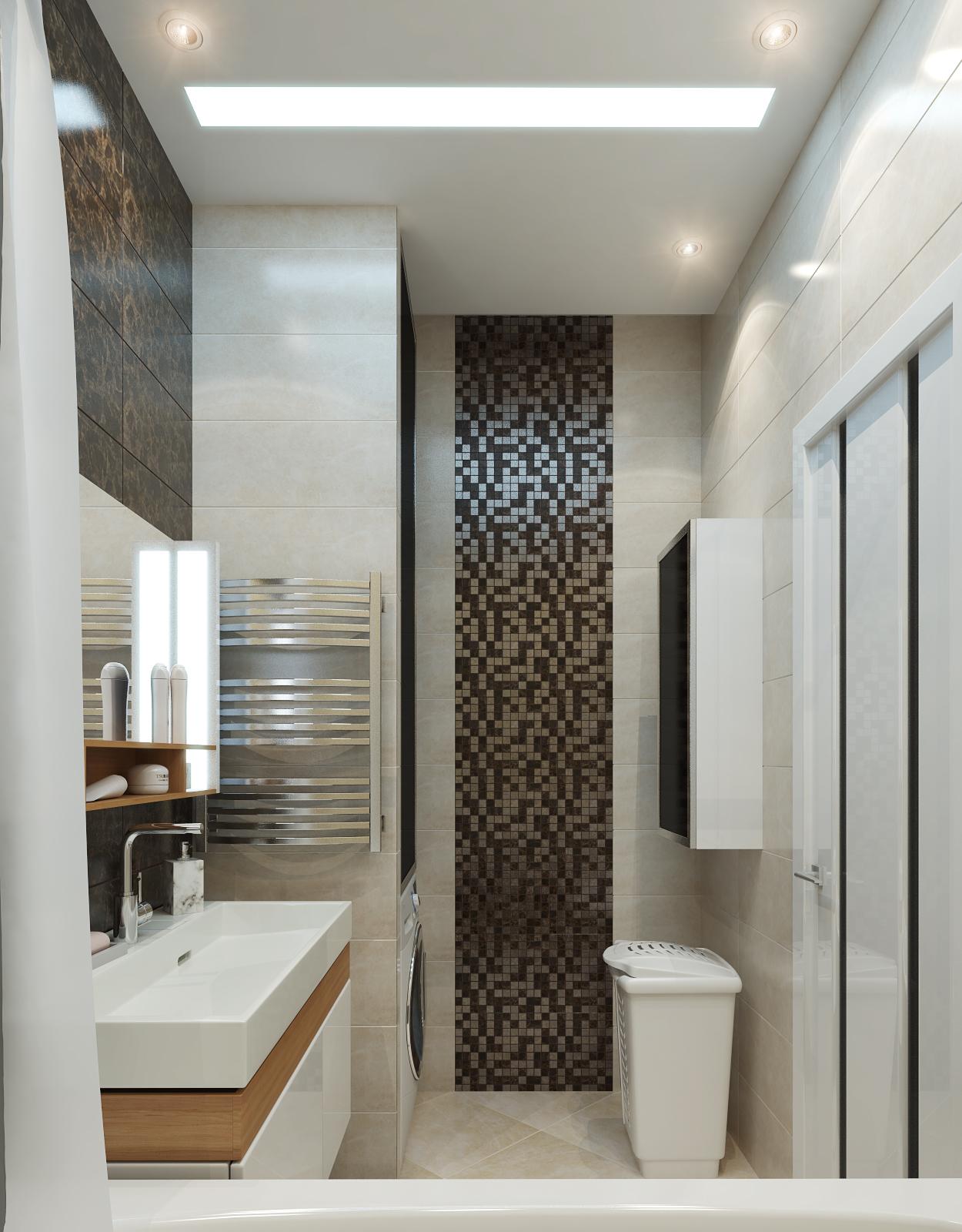дизайн интерьера ванной нео классика (4)