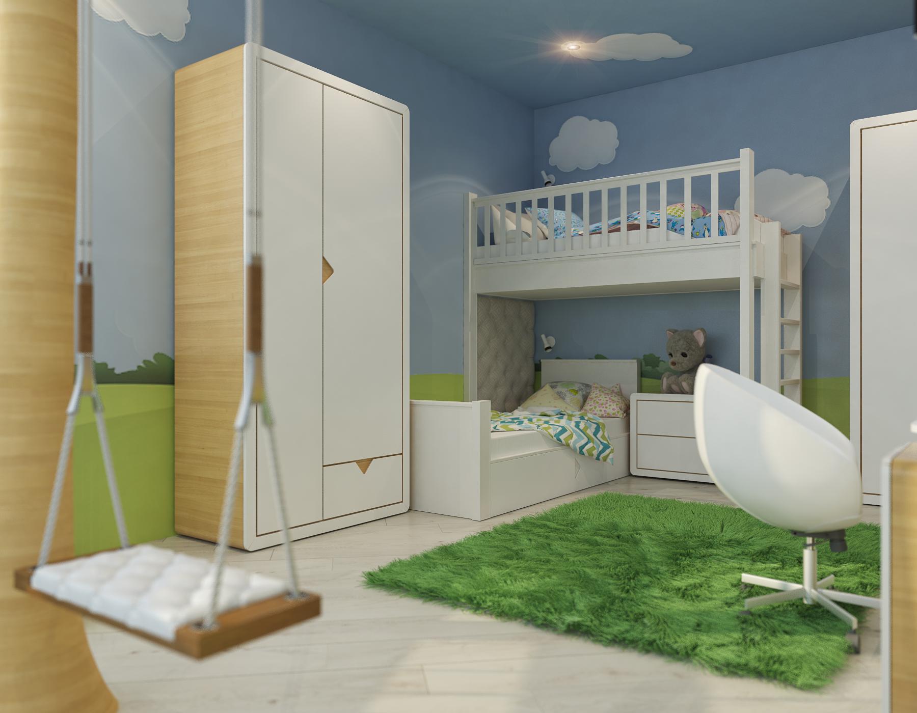 дизайн интерьера детской (1)