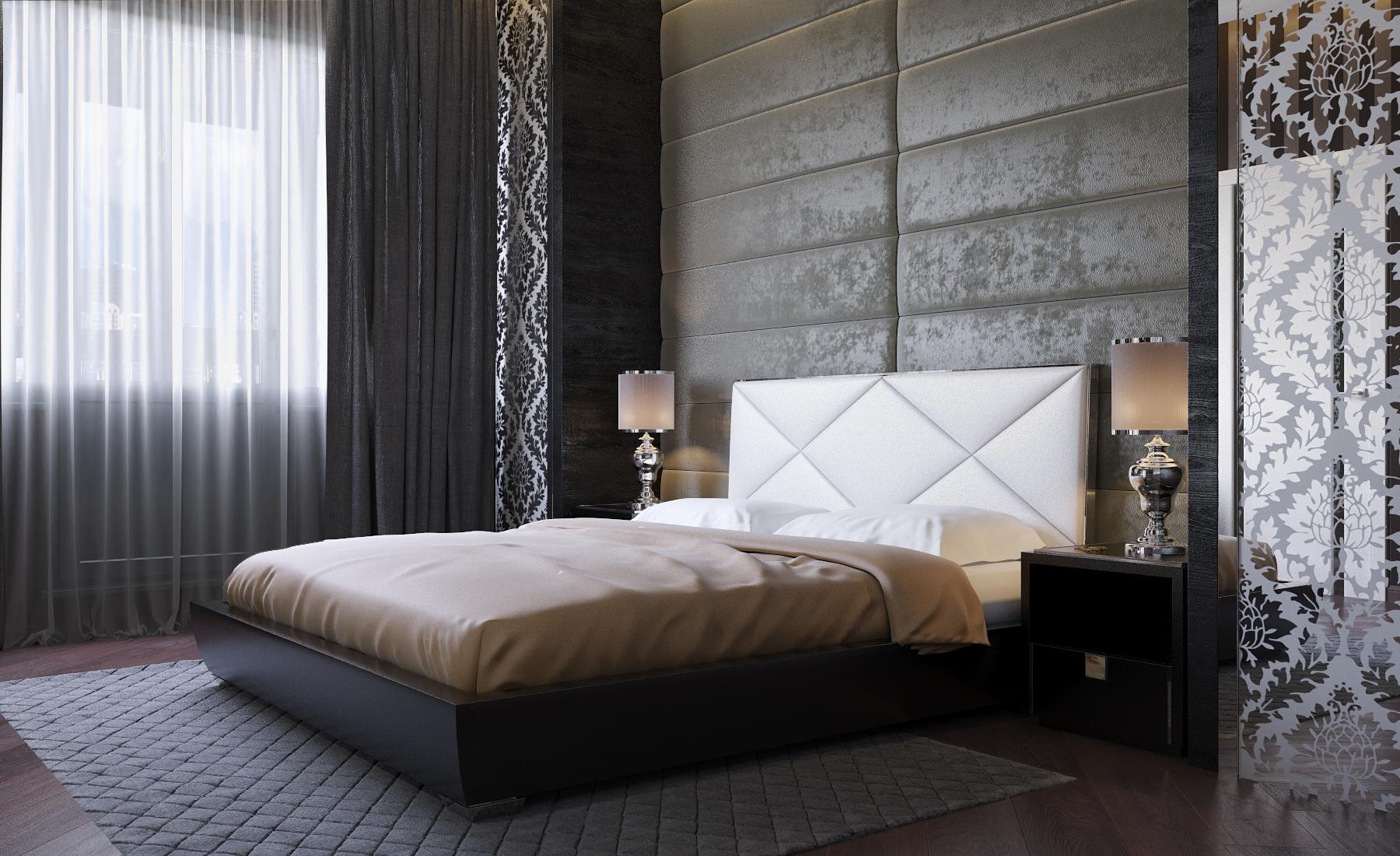 дизайн интерьера спальни (5)