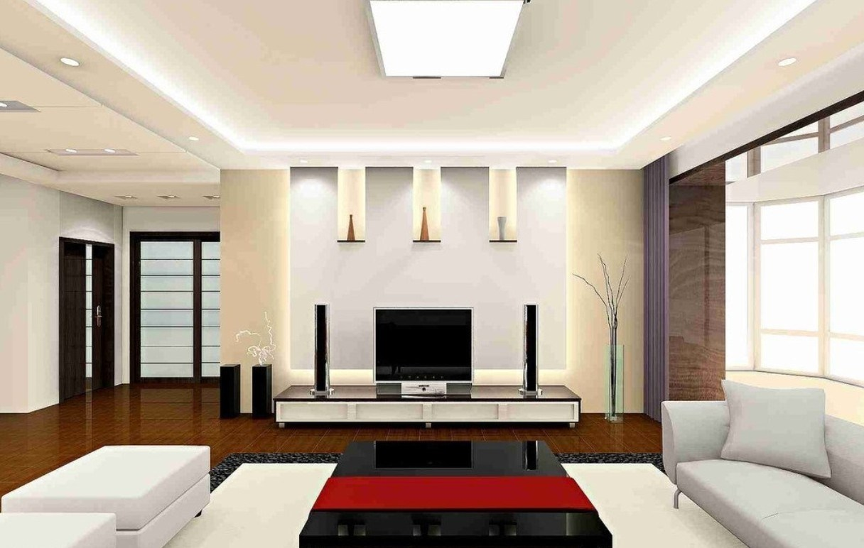 ceiling-of-modern-living-room